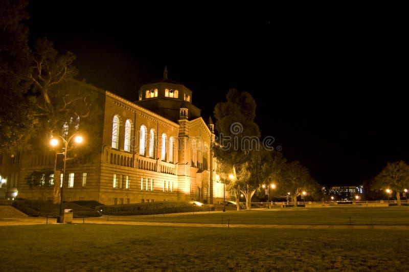 kampusu edukaci noc fotografia stock