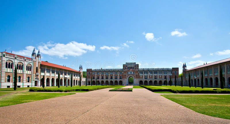 kampusu uniwersytet zdjęcie stock