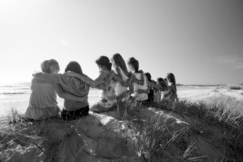 kamratskap fotografering för bildbyråer