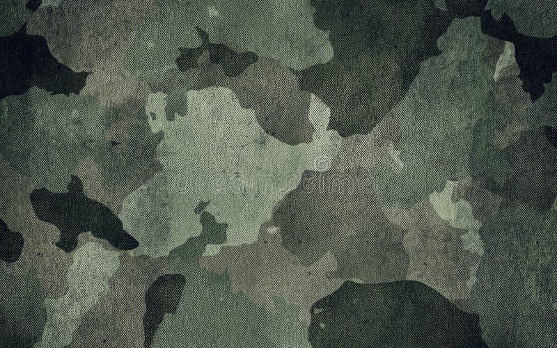 Kamuflaż deseniowa sukienna tekstura Tło i tekstura dla projekta zdjęcie royalty free