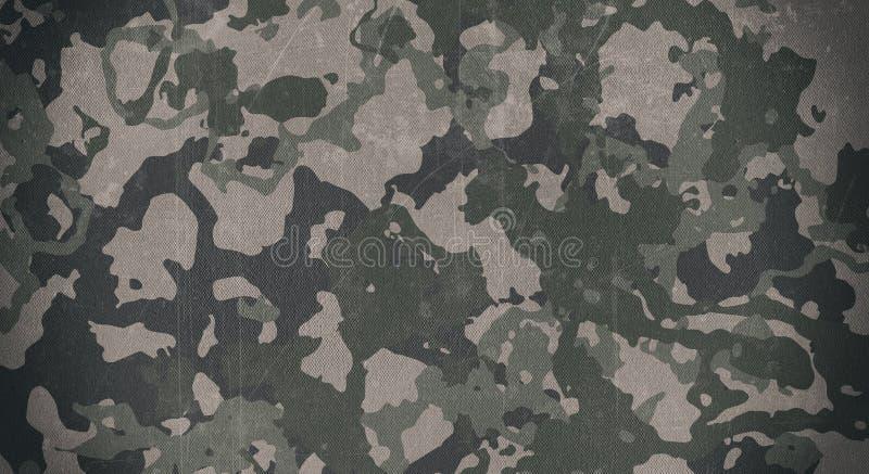 Kamuflaż deseniowa sukienna tekstura Tło i tekstura dla projekta fotografia stock