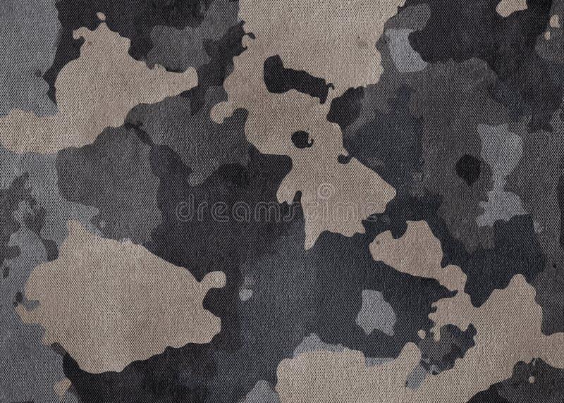 Kamuflaż deseniowa sukienna tekstura Tło i tekstura dla projekta obrazy royalty free