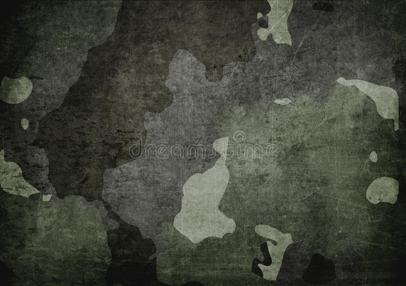 Kamuflaż deseniowa sukienna tekstura Tło i tekstura dla projekta obrazy stock