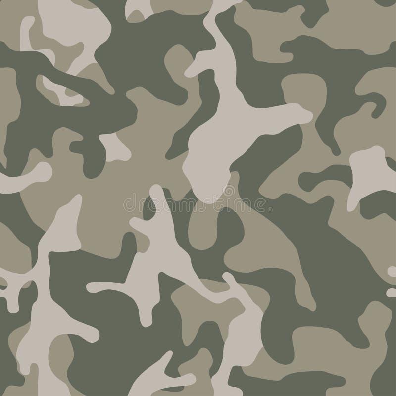 kamuflażu bezszwowy deseniowy Abstrakcjonistyczny nowożytny wektorowy militarny backgound royalty ilustracja