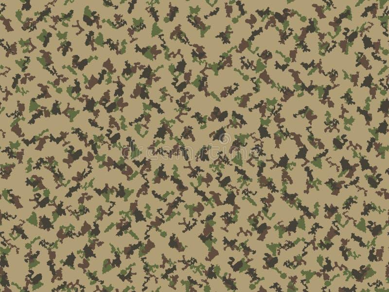Kamuflażu tła wojska backgound abstrakcjonistycznej nowożytnej wektorowej militarnej tkaniny druku tekstylny tamplate royalty ilustracja
