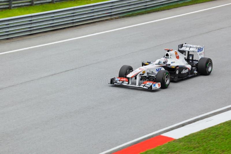 Kamui Kobayashi (team Sauber) stock photos