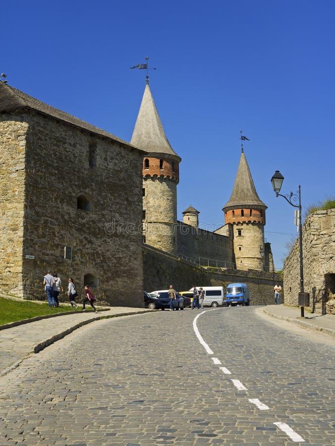 Kamyanets Podilsky Castle royalty free stock photos