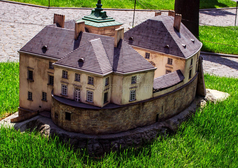Kamyanets-Podilsky, Ukraine - June 18, 2017: The Museum of the Fortress of Ukraine. royalty free stock image