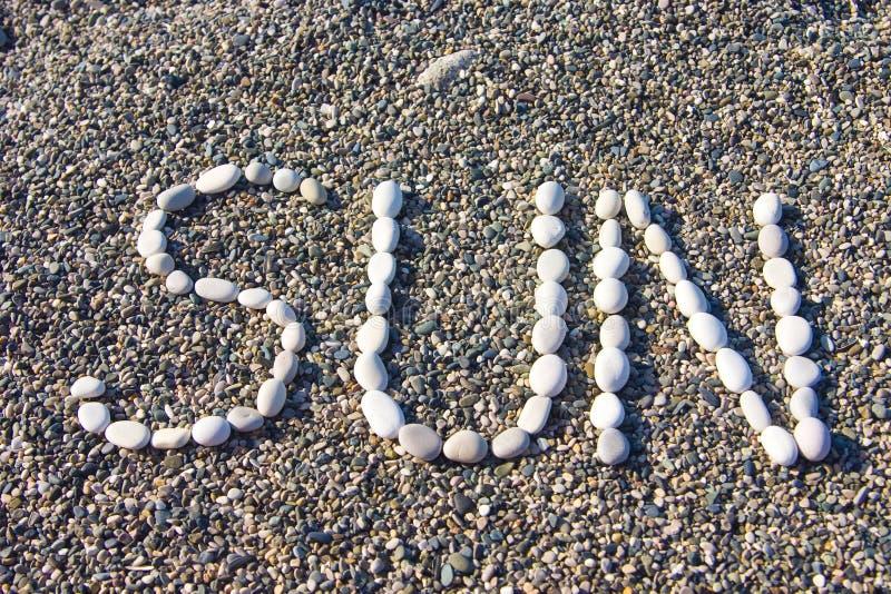 kamyczek przybrzeżne zdjęcie royalty free
