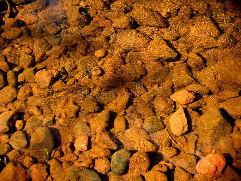 kamyczek wody fotografia stock