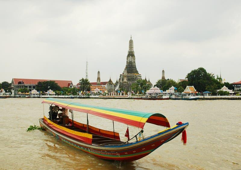 Kanäle in Bangkok. lizenzfreie stockfotos