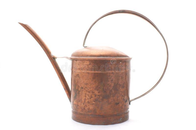 kan copper att bevattna royaltyfria bilder