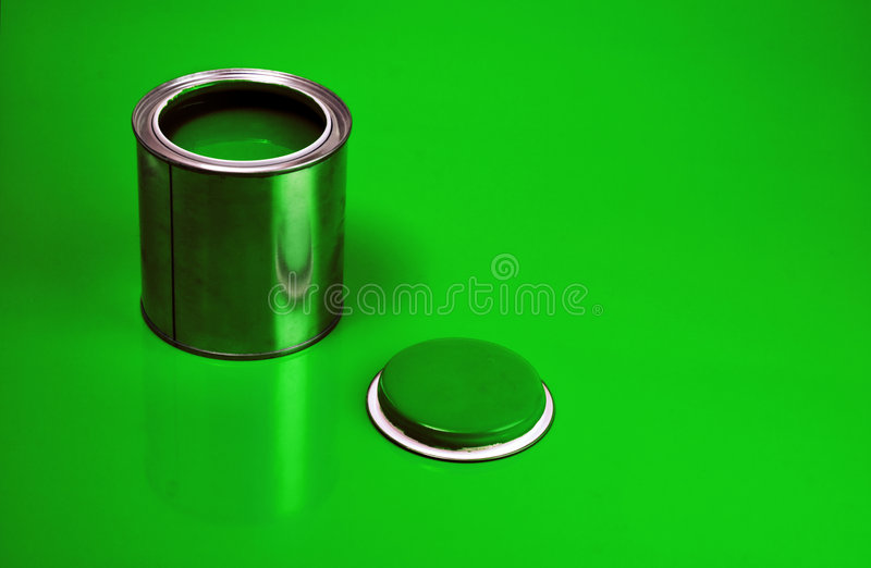 kan green fernissa arkivfoto