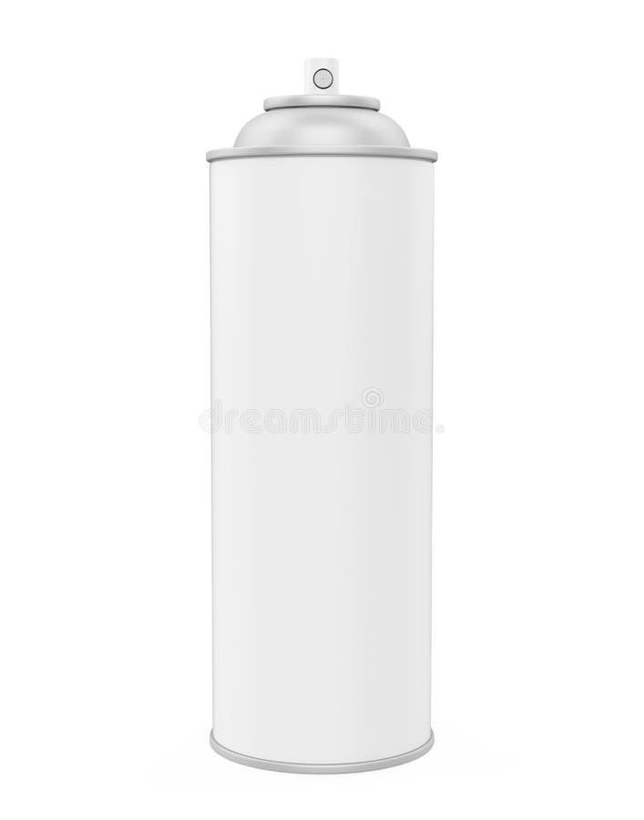 kan isolerad spray stock illustrationer