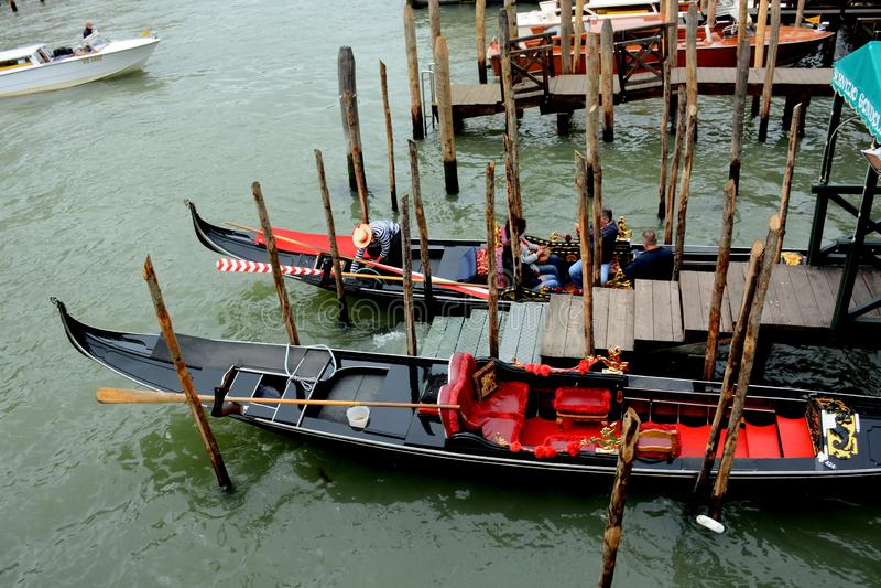 Kan?le von Venedig, Italien lizenzfreie stockfotos