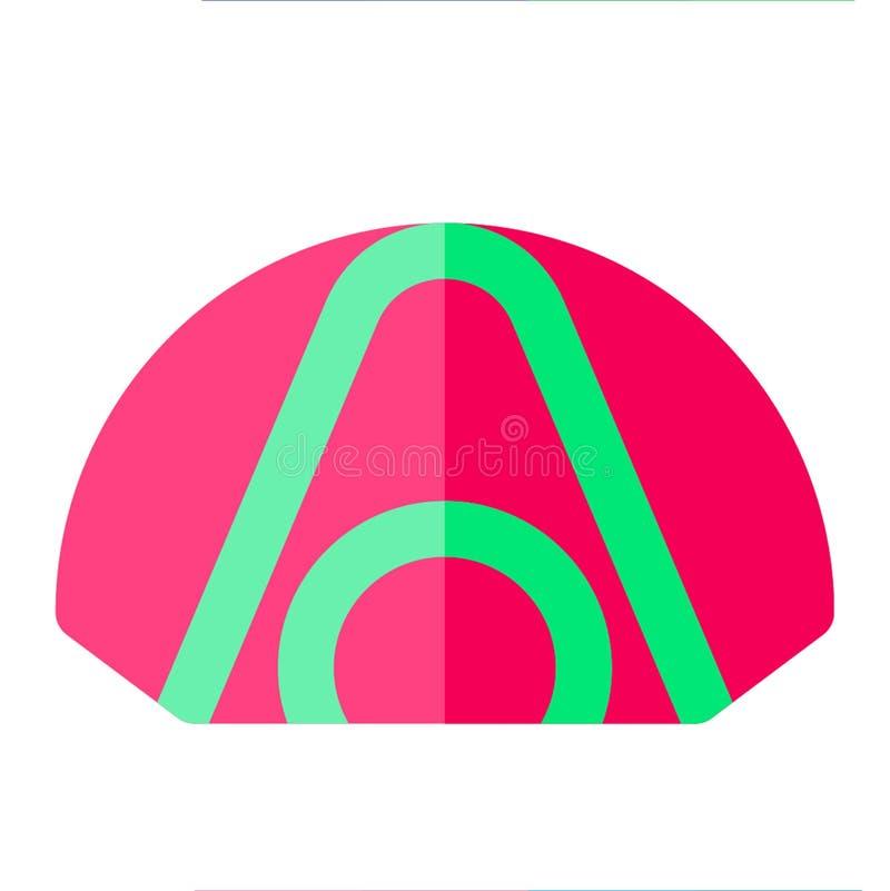 Kan plan stil för tältsymbolen använda någon avsikt fotografering för bildbyråer
