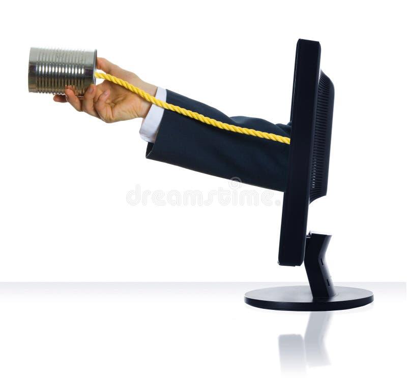 Kan Telefoneren Royalty-vrije Stock Afbeeldingen