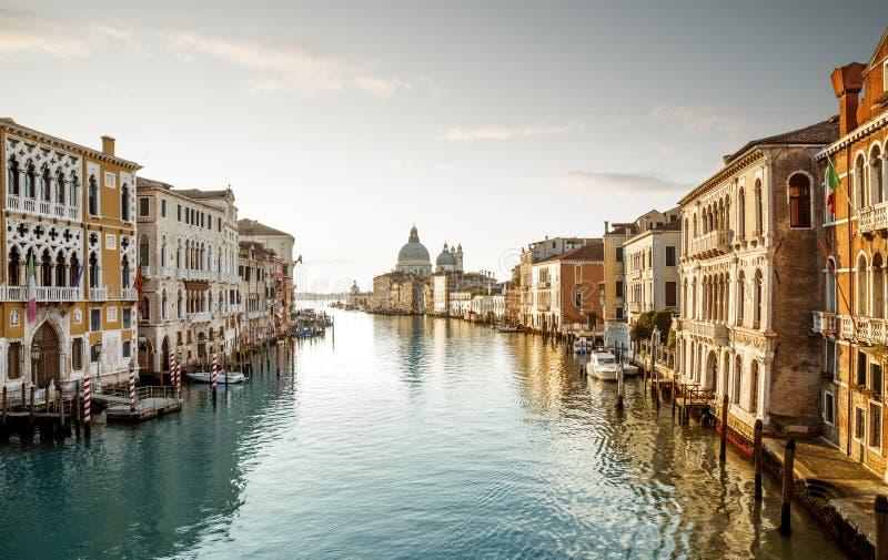 Kanał Grande w Venice, Włochy zdjęcia stock