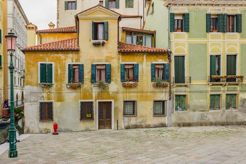 Kanał w Wenecja, Włochy obraz stock
