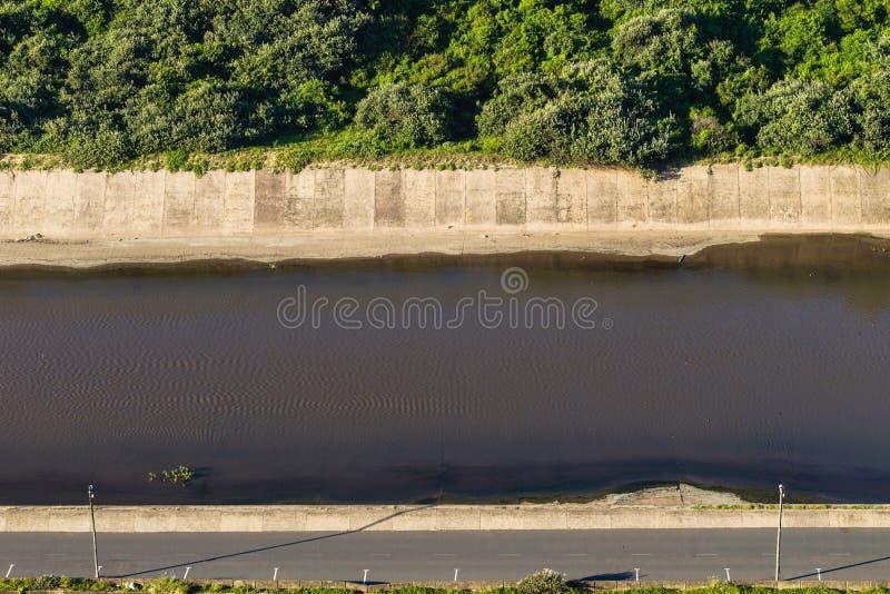 Kanał Wodna sekcja zdjęcia royalty free