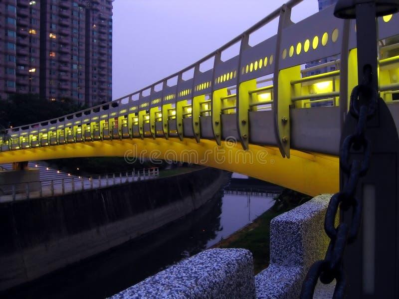 kanałowa bridge noc obrazy royalty free