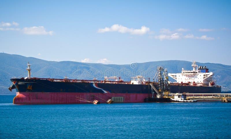 kanałowy ładunku Germany Kiel oleju statku tankowiec obrazy royalty free