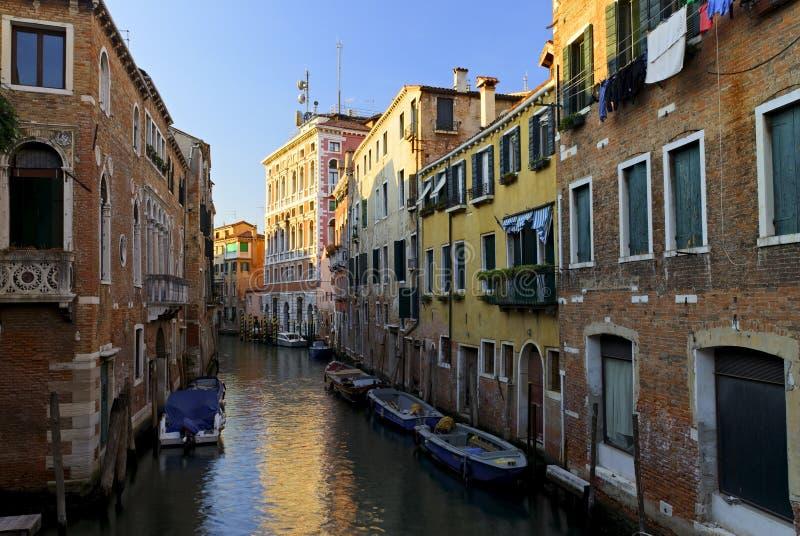 kanałowy Wenecji obraz stock