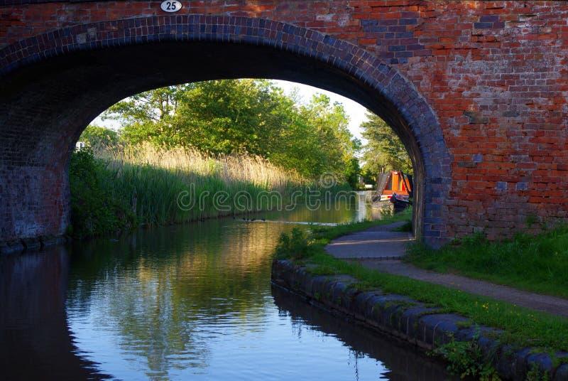 Kanału most zdjęcie royalty free