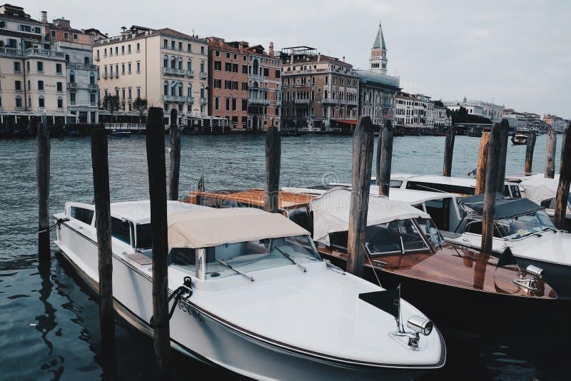 Kanaal Grande - Venetië, Italië royalty-vrije stock afbeeldingen