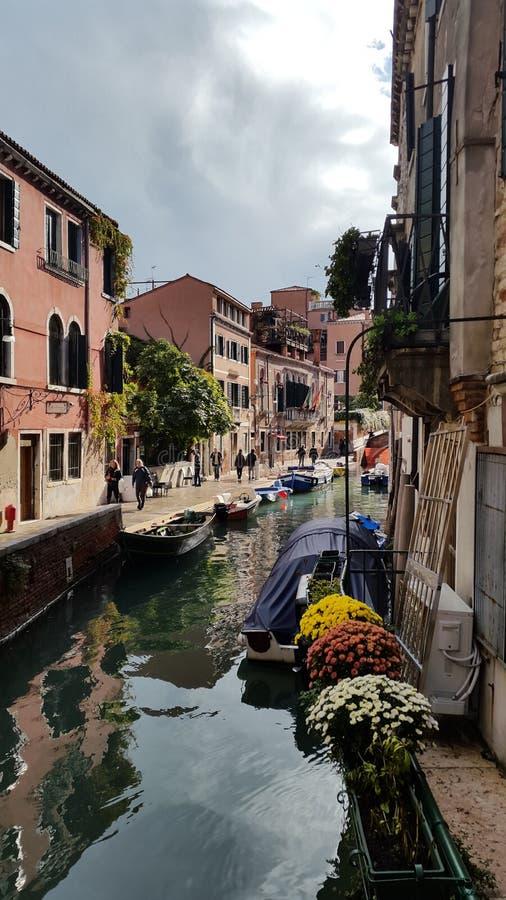 Kanaal Venetië stock afbeeldingen