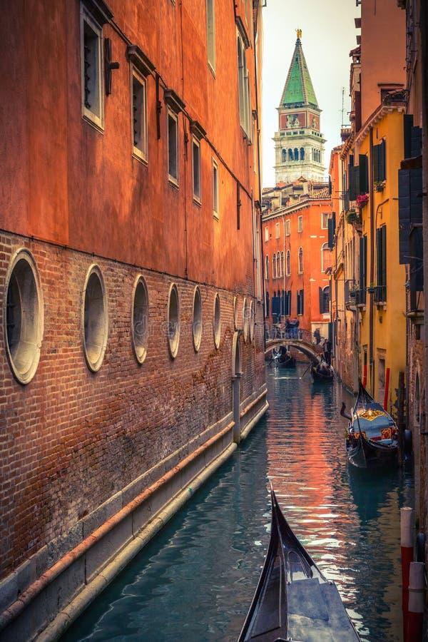 Kanaal in Veneti? stock fotografie