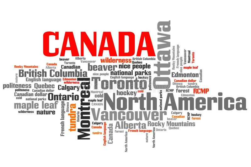 Kanada royalty ilustracja