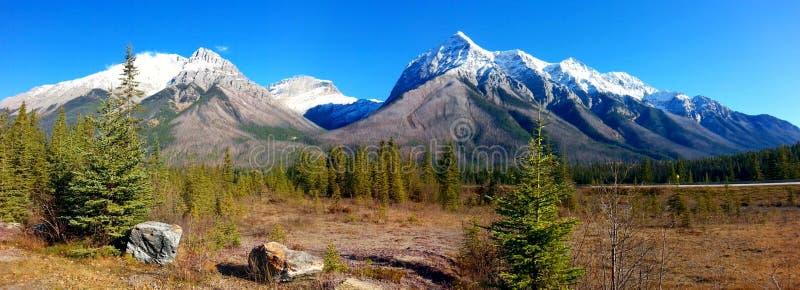 Kanada-Berge lizenzfreie stockbilder