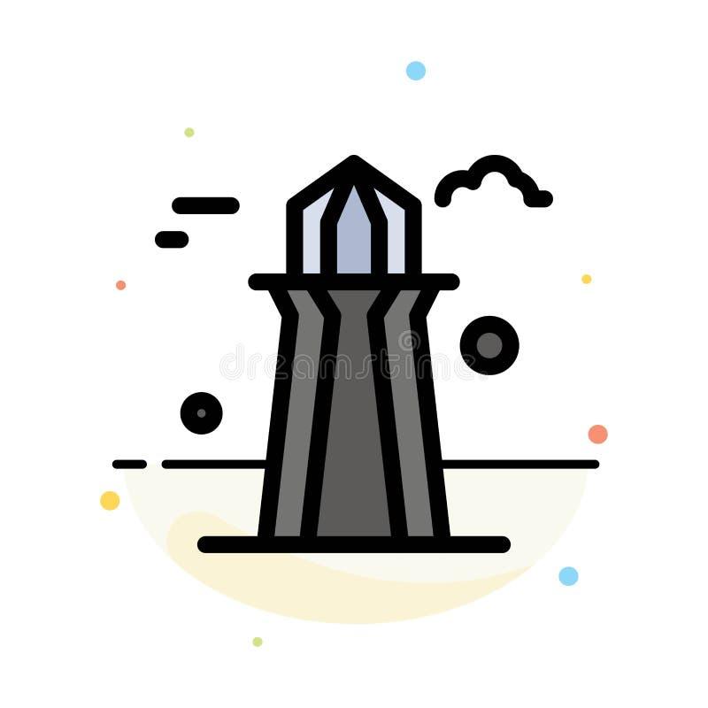 Kanada, Co wierza, Kanada wierza, Buduje Abstrakcjonistycznego Płaskiego kolor ikony szablon ilustracji