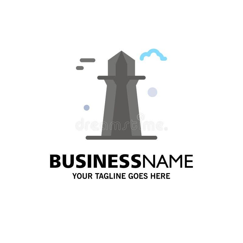 Kanada, Co wierza, Kanada wierza, Buduje Biznesowego logo szablon p?aski kolor ilustracja wektor