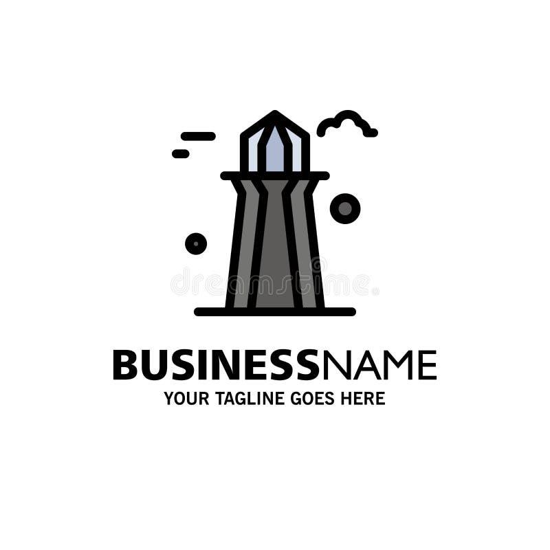 Kanada, Co wierza, Kanada wierza, Buduje Biznesowego logo szablon p?aski kolor royalty ilustracja