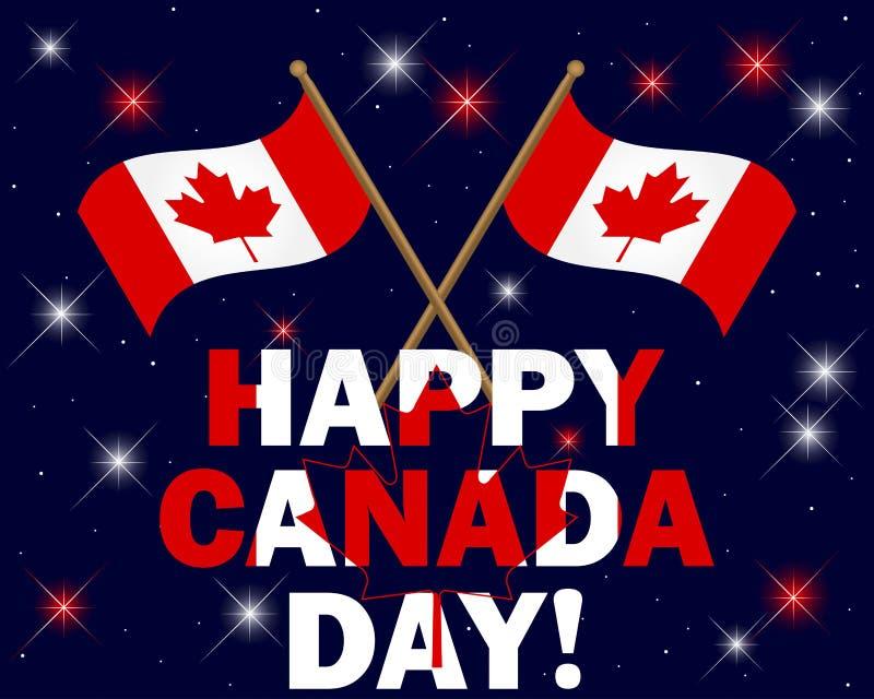 Kanada dag vektor illustrationer