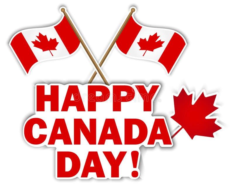 Kanada dagetiketter arkivfoto