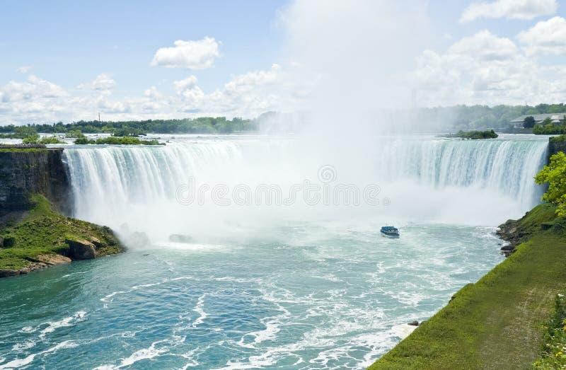 Kanada faller niagara royaltyfri fotografi