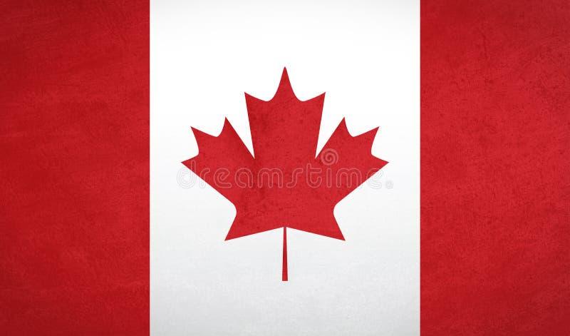 Kanada flaga tekstura ilustracja wektor
