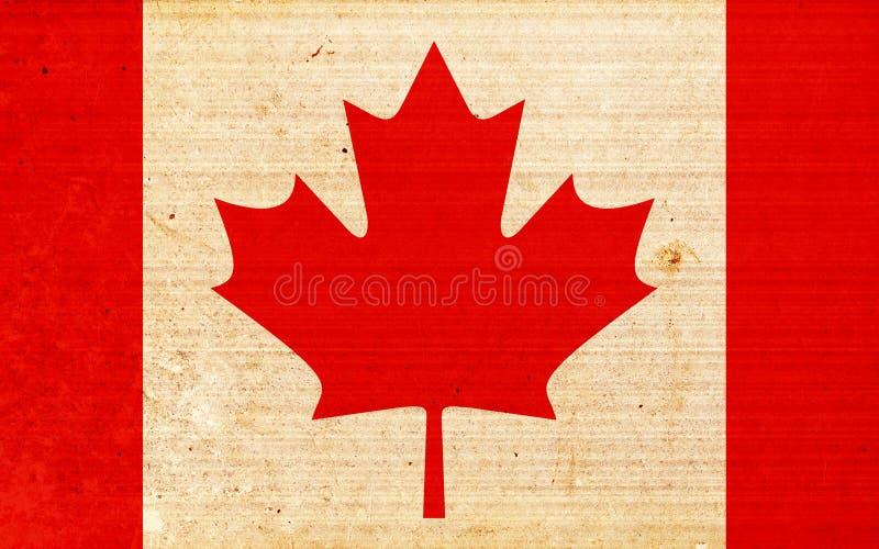 Kanada flagga vektor illustrationer