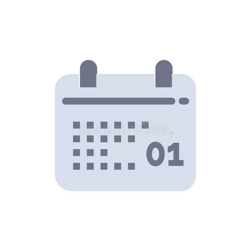 Kanada, kalendarz, data, dnia koloru Płaska ikona Wektorowy ikona sztandaru szablon ilustracja wektor