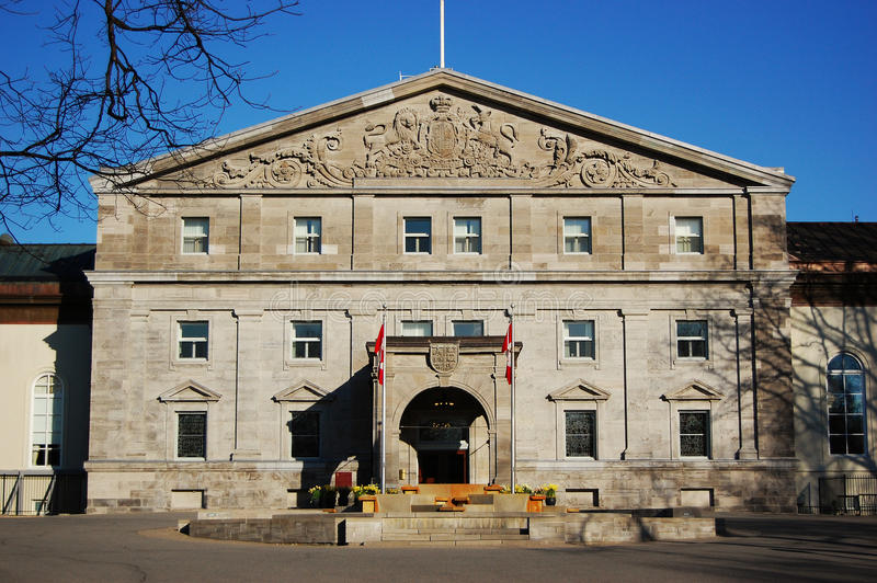 Kanada korridorottawa rideau royaltyfri bild