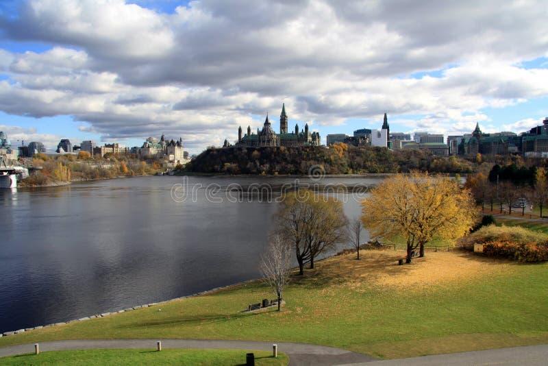 Kanada parlament royaltyfri foto
