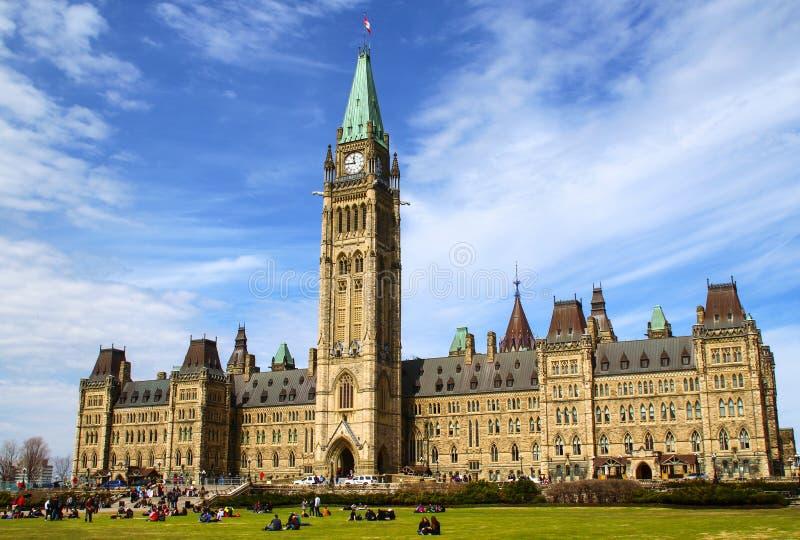 Kanada parlament arkivfoto