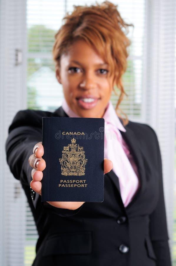 Kanada pass royaltyfria bilder
