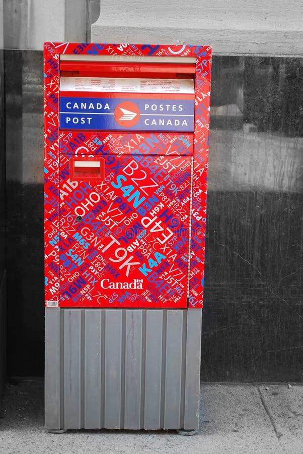 Kanada-Pfosten stockfoto