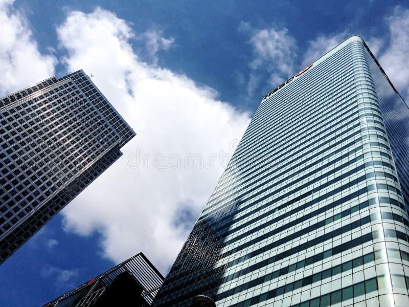 1 Kanada-Quadrat HSBC ragen hoch lizenzfreie stockfotos