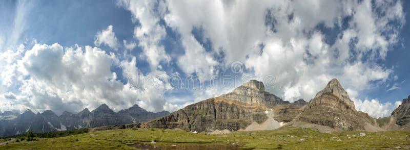 Kanada Skalistych gór panorama zdjęcie stock