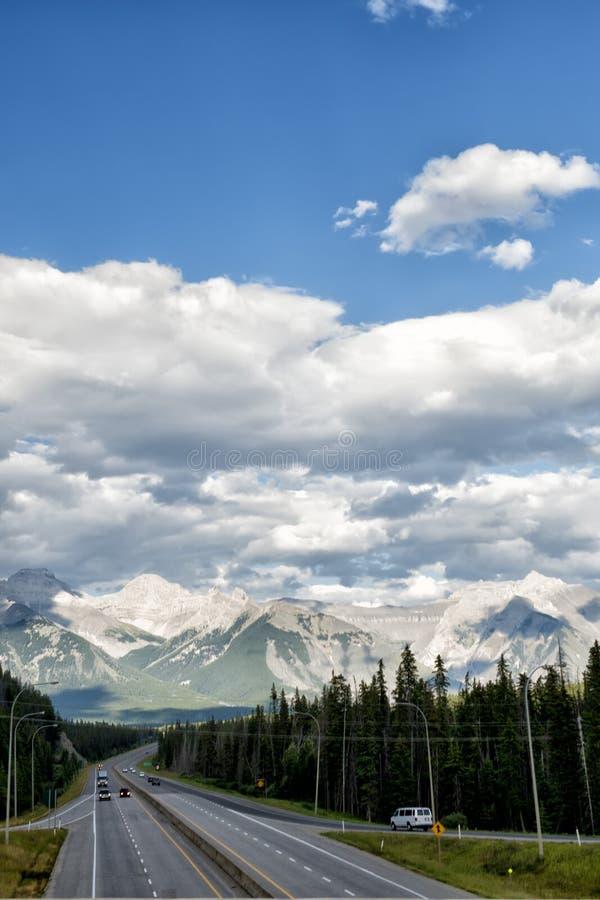 Kanada Skalistych gór panorama obrazy royalty free